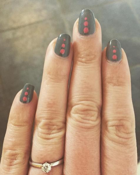 40 Simple Grey Nail Art Ideas 12 2