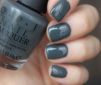 40 Simple Grey Nail Art Ideas 4 2