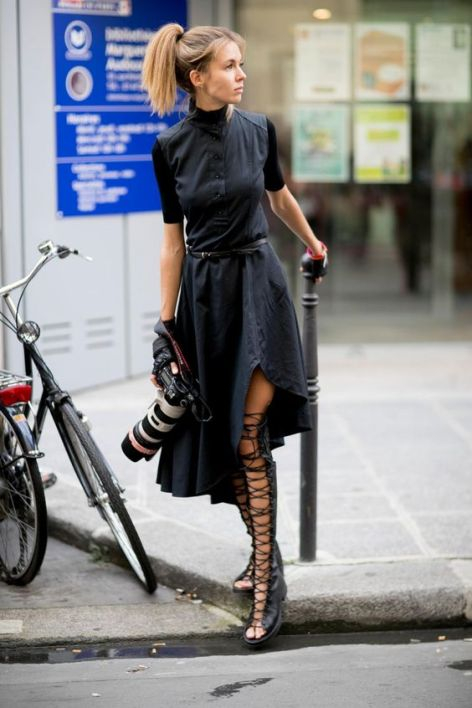 40 Stylish Asymmetric Dress Ideas 18