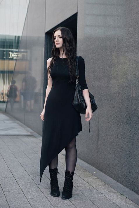 40 Stylish Asymmetric Dress Ideas 23