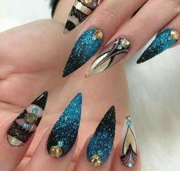 40 Unique 3D Nails Designs Ideas 28