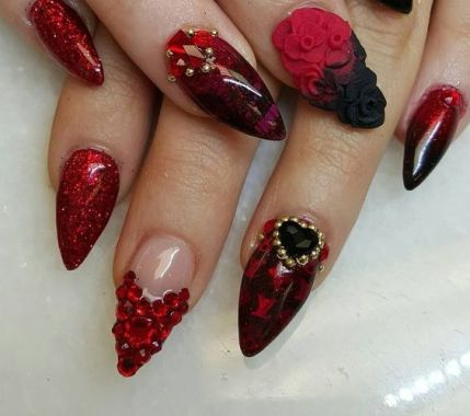 40 Unique 3D Nails Designs Ideas 42