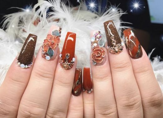 40 Unique 3D Nails Designs Ideas 43