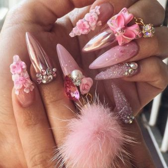 40 Unique 3D Nails Designs Ideas 6