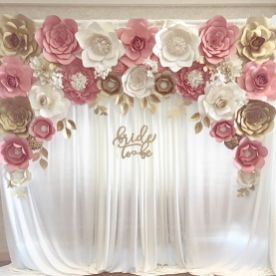 40 Ways to Use Paper Flowers At Your Wedding 23