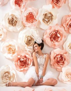 40 Ways to Use Paper Flowers At Your Wedding 36
