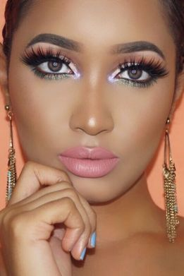 40 Ways to Wear Pink Lipstick Ideas 13