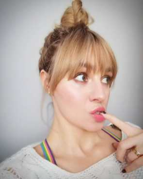 40 Ways to Wear Pink Lipstick Ideas 15