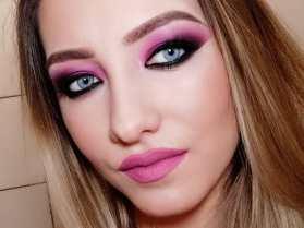 40 Ways to Wear Pink Lipstick Ideas 44