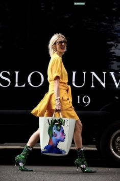 40 Yellow Outfits in Fashion Ideas 26