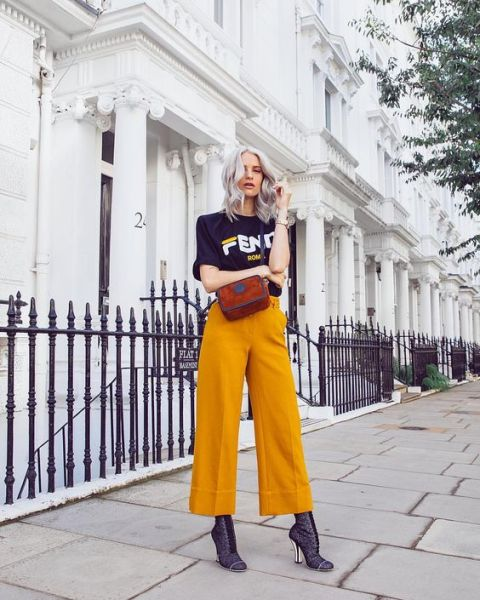 40 Yellow Outfits in Fashion Ideas 6