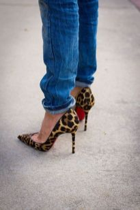 50 Animal Print High Heels Shoes Ideas 33
