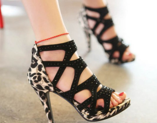 50 Animal Print High Heels Shoes Ideas 46