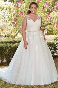 50 Ball Gown for Pluz Size Brides Ideas 10