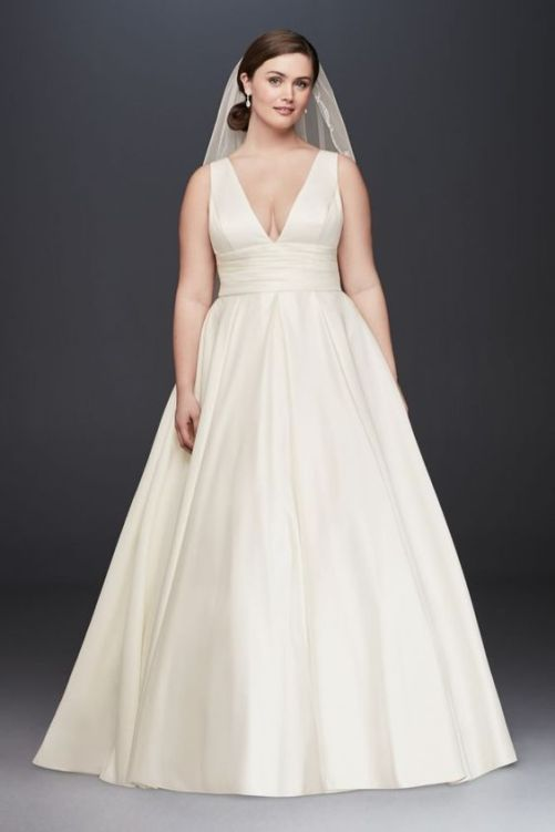 50 Ball Gown for Pluz Size Brides Ideas 11