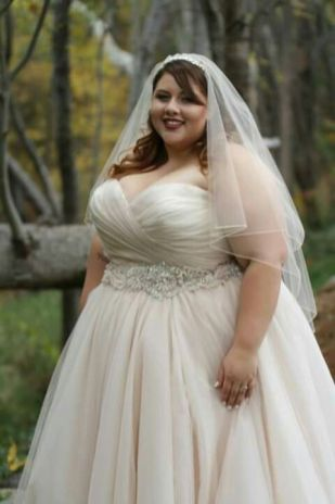 50 Ball Gown for Pluz Size Brides Ideas 17