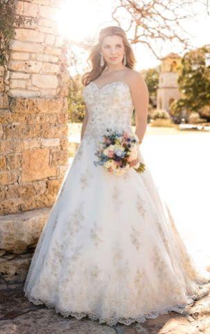 50 Ball Gown for Pluz Size Brides Ideas 18