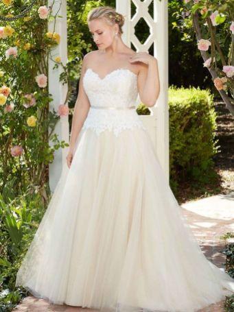50 Ball Gown for Pluz Size Brides Ideas 21