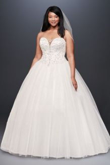 50 Ball Gown for Pluz Size Brides Ideas 22