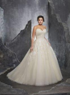50 Ball Gown for Pluz Size Brides Ideas 3