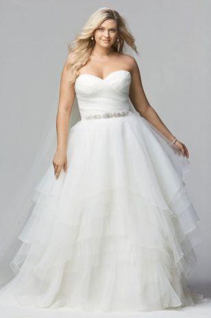 50 Ball Gown for Pluz Size Brides Ideas 34