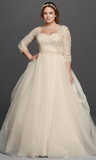 50 Ball Gown for Pluz Size Brides Ideas 4