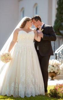 50 Ball Gown for Pluz Size Brides Ideas 43