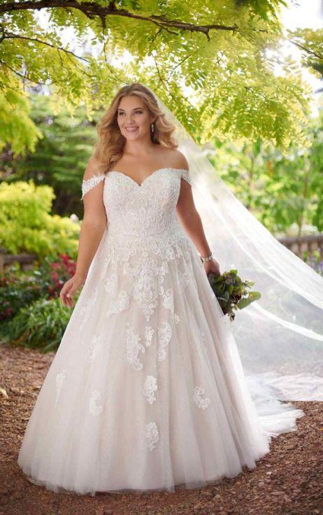 50 Ball Gown for Pluz Size Brides Ideas 49