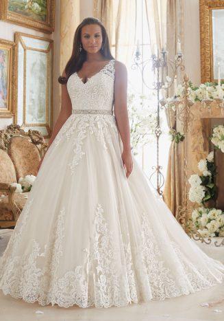 50 Ball Gown for Pluz Size Brides Ideas 5
