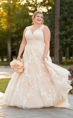 50 Ball Gown for Pluz Size Brides Ideas 52