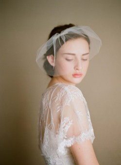 50 Blusher Veils and Bridcage for Brides Ideas 19