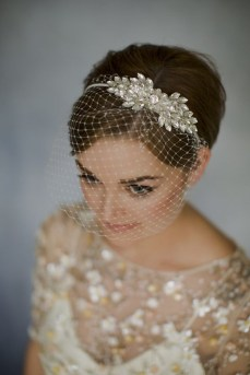 50 Blusher Veils and Bridcage for Brides Ideas 38