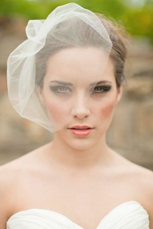 50 Blusher Veils and Bridcage for Brides Ideas 4