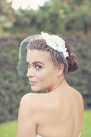 50 Blusher Veils and Bridcage for Brides Ideas 42