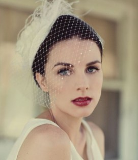 50 Blusher Veils and Bridcage for Brides Ideas 48