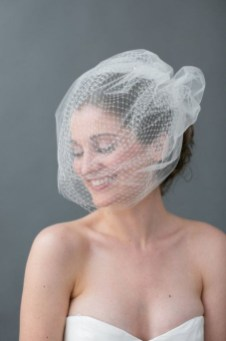 50 Blusher Veils and Bridcage for Brides Ideas 50