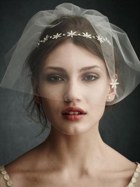 50 Blusher Veils and Bridcage for Brides Ideas 52