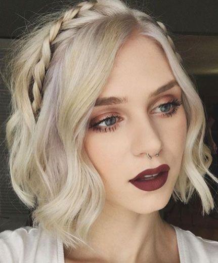 50 Braids Short Hair Wedding Hairstyles Ideas 10