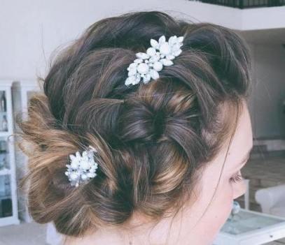 50 Braids Short Hair Wedding Hairstyles Ideas 12