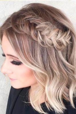 50 Braids Short Hair Wedding Hairstyles Ideas 16