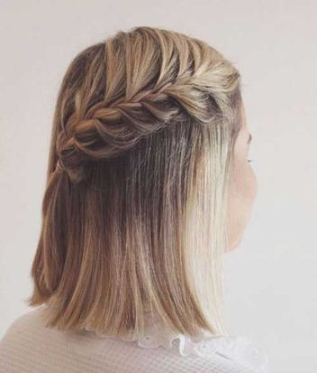 50 Braids Short Hair Wedding Hairstyles Ideas 26