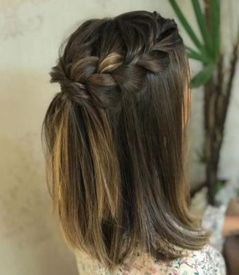 50 Braids Short Hair Wedding Hairstyles Ideas 28