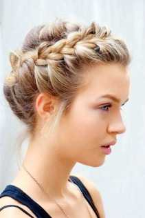 50 Braids Short Hair Wedding Hairstyles Ideas 33