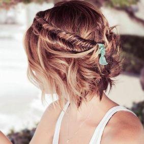 50 Braids Short Hair Wedding Hairstyles Ideas 35