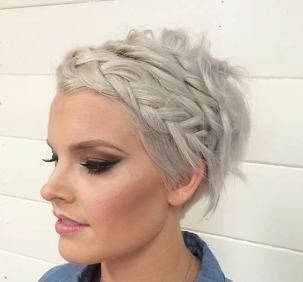 50 Braids Short Hair Wedding Hairstyles Ideas 42
