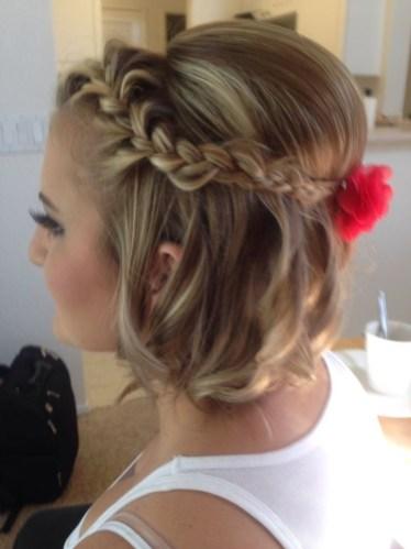 50 Braids Short Hair Wedding Hairstyles Ideas 44
