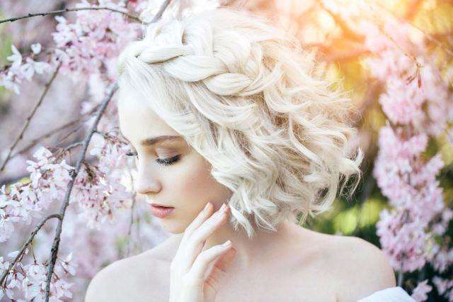 50 Braids Short Hair Wedding Hairstyles Ideas 47