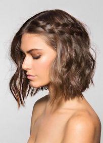 50 Braids Short Hair Wedding Hairstyles Ideas 51