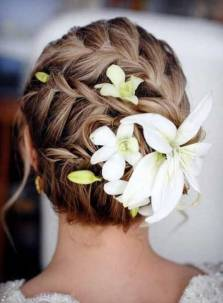 50 Braids Short Hair Wedding Hairstyles Ideas 52