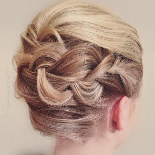 50 Braids Short Hair Wedding Hairstyles Ideas 6